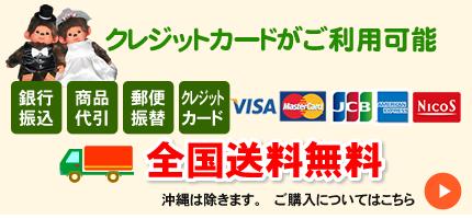 クレジットカードがご利用可能